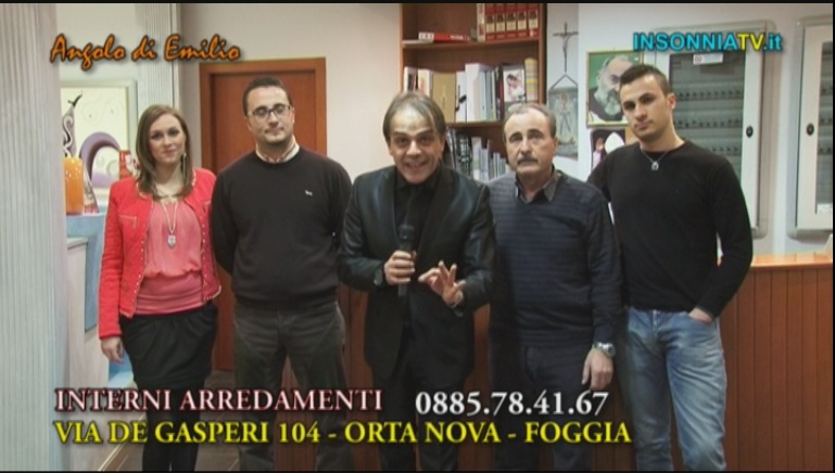 Insonnia tv for Arredamenti del re foggia